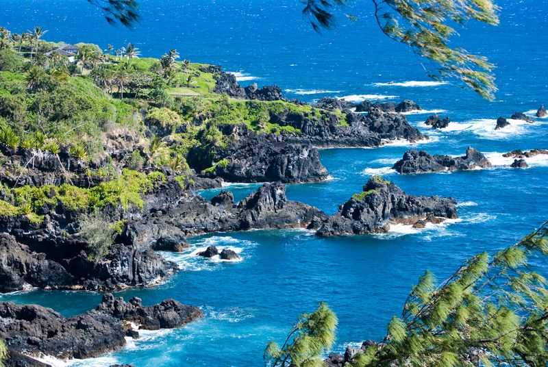 Hana Maui Coastline (c) Claudia Ward