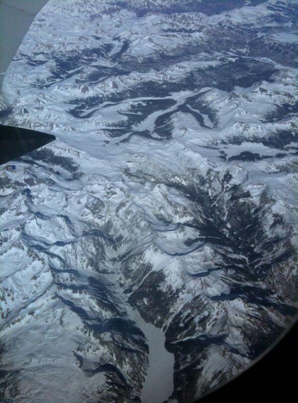Snow Covered Rockies (c) Claudia Ward