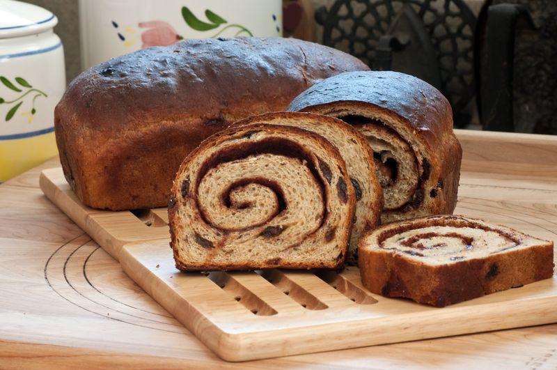 Cinnamon Oat Bread