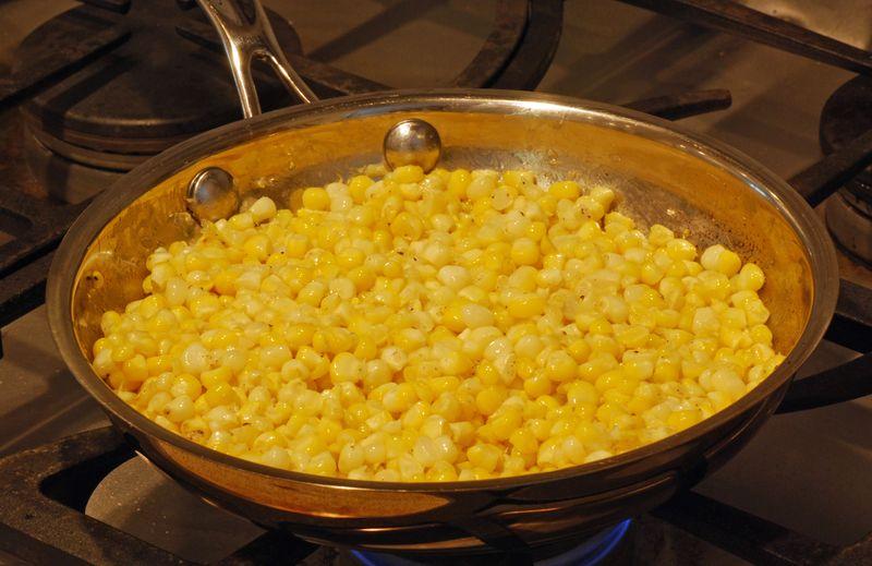 Sautéed Fresh Corn