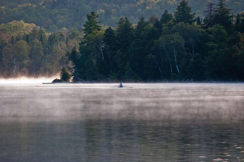 Mirror Lake in the Adirondacks ©2010 Claudia Ward