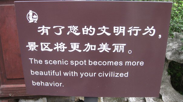 Chinese Sign 6