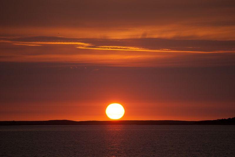 Sunrise Over Pleasant Bay ©2010 Claudia Ward