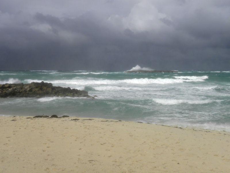Atlantic Ocean Off Atlantis on Paradise Island Bahamas