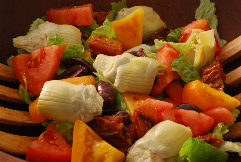 Tomato Salad with Sherry Vinaigrette
