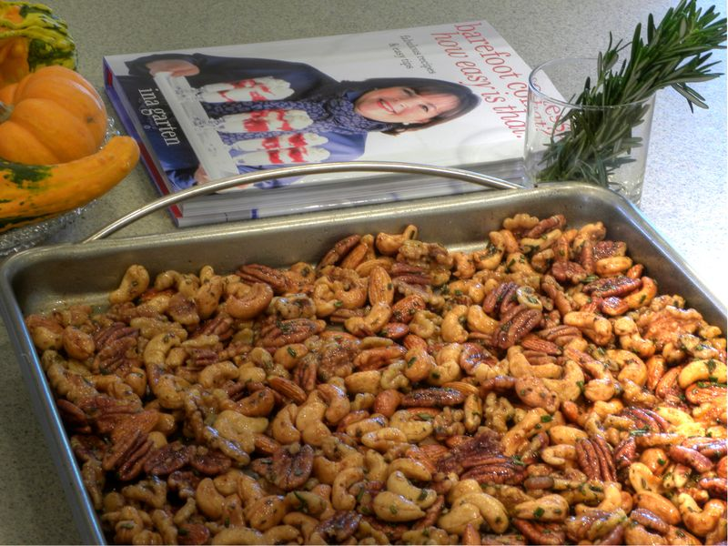 Ina Garten's Chipotle & Rosemary Roasted Nuts
