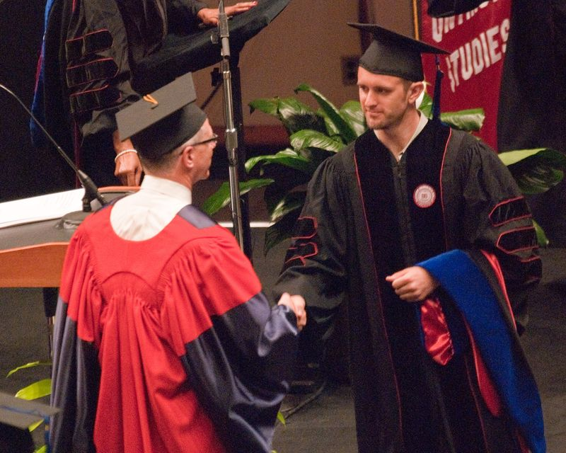 Dr. William Holmes - Indiana University Graduation 2010