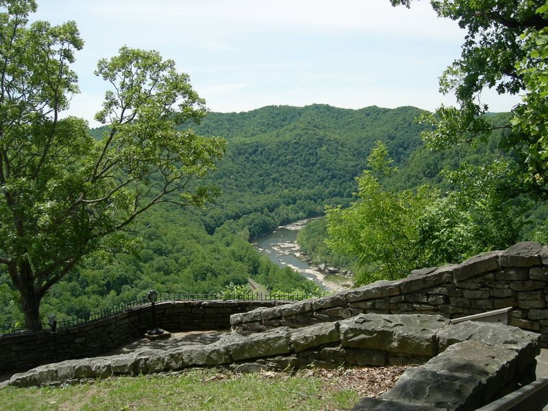The New River, West Virginia