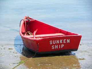"""Sunken Ship"" Dinghy"