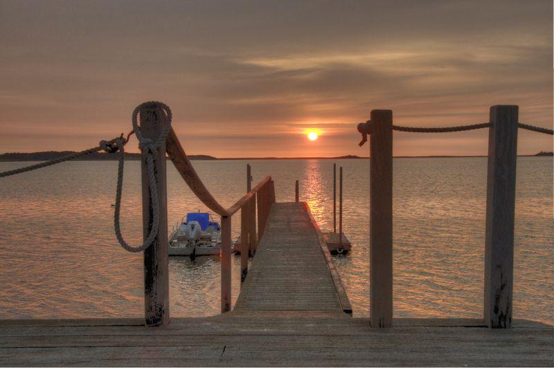 Sunrise Over Pleasant Bay ©2010 Peter Tooker
