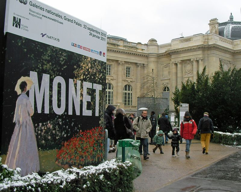 Grand Palais Monet Exhibit 2010
