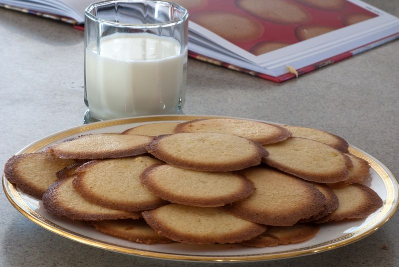 Lemon Thins from The Gourmet Cookie Book