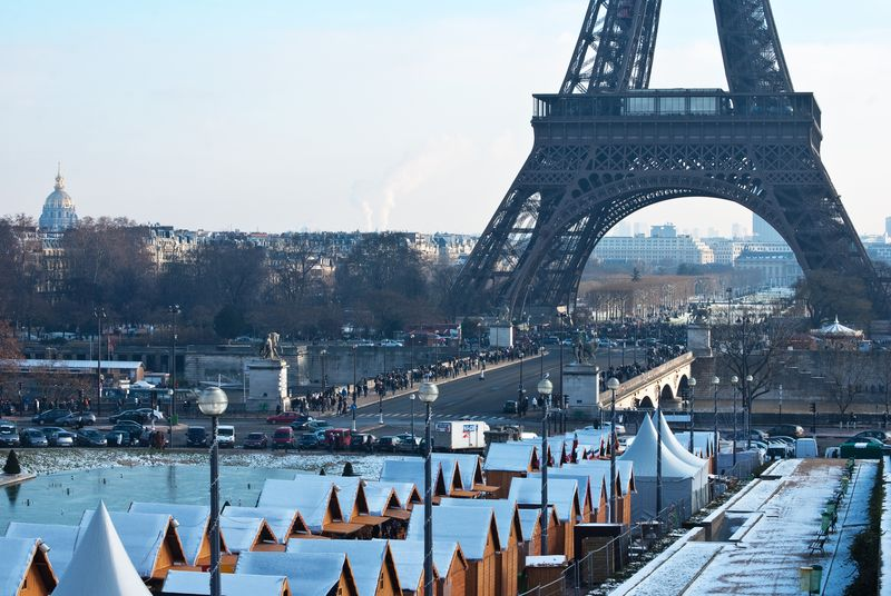 La Tour Eiffel from Trocadéro