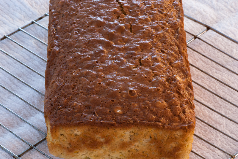 Orange Oatmeal Bread