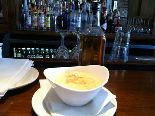 She Crab Soup at Amen Street Charleston SC
