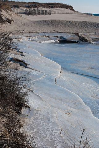Icy Beach ©2011 Claudia Ward