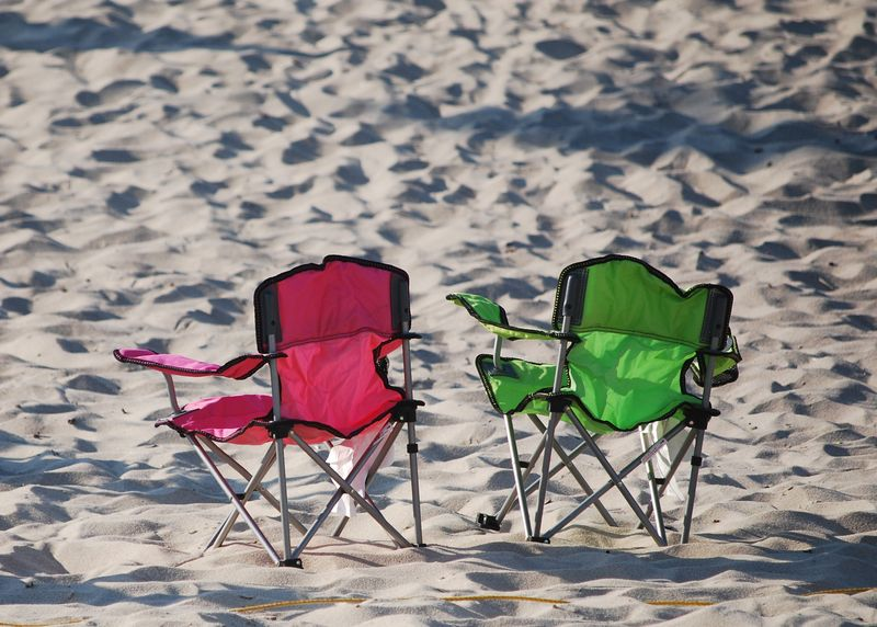 Beach Chairs in the Spring ©2011 Claudia Ward