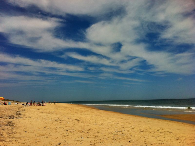 Hamptons Beach in June