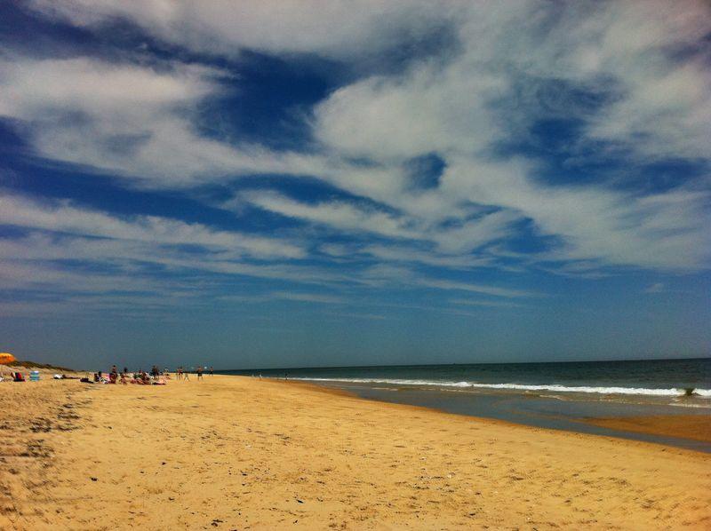 Hamptons Beach in June