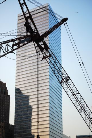 Rebuilding at the World Trade Center Site