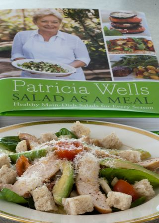 Smoked Chicken Salad from Patricia Wells
