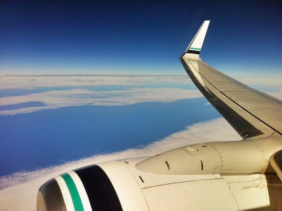 34,000 Feet in the Sky
