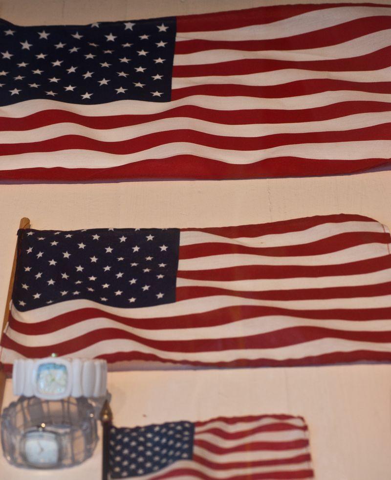 Flags in a Window