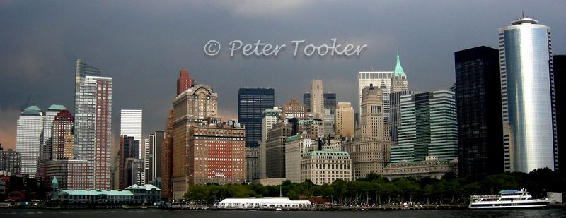Lower Manhattan Skyline © Peter Tooker All Rights Reserved