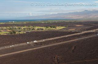 West Coast A'a Lava Fields on the Big Island of Hawaii