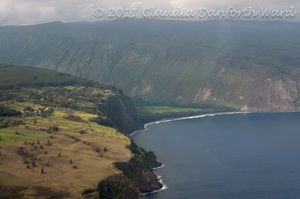 Hamakua Coastline on Northeast Hawaii