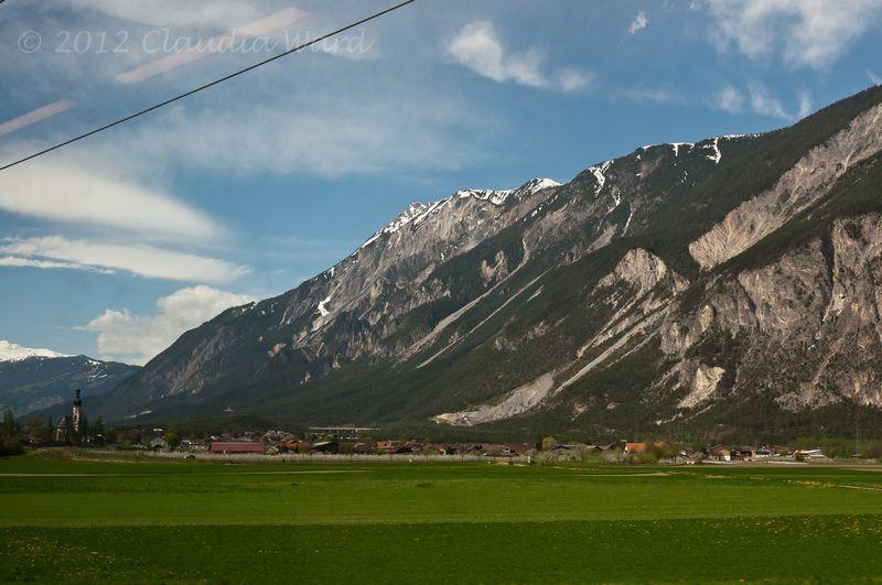 Traveling through the Austrian Alps