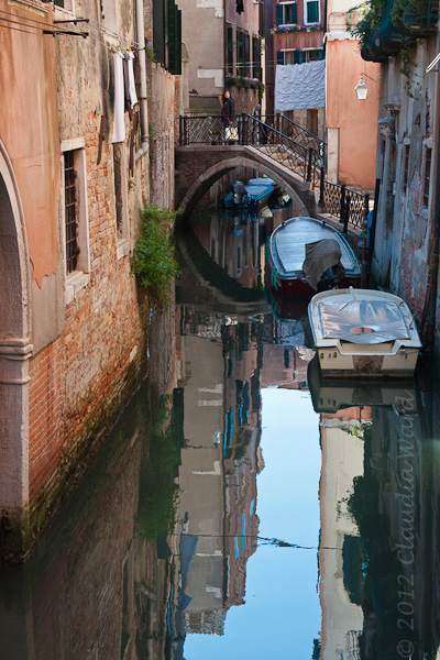 A Canal in Venice ©2012 Claudia Ward