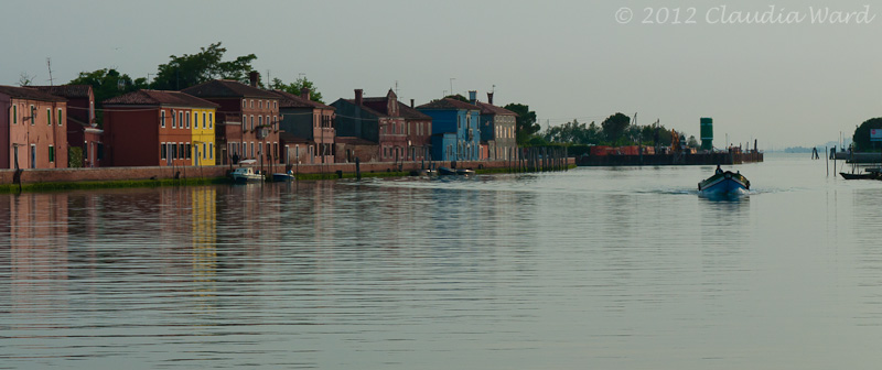 Burano from the Water