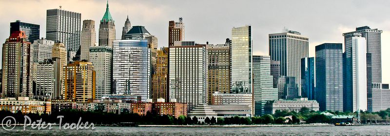 """New York Skyline"" HDR ©2009 Peter Tooker"