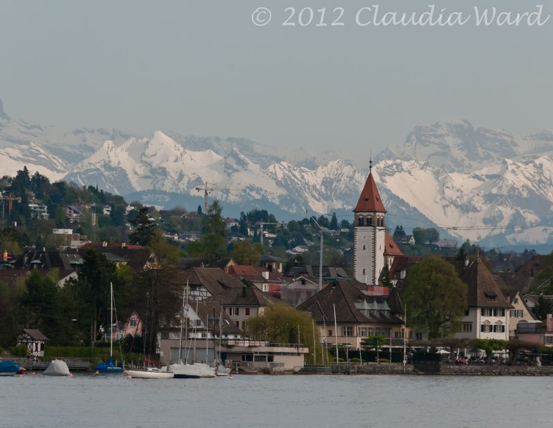 Lake Zurich © 2012 Claudia Ward