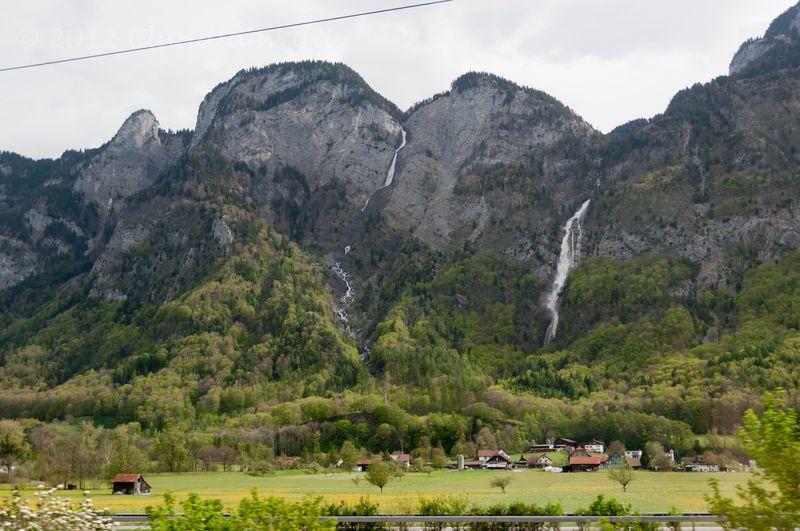 From the Train - Zurich to Salzburg