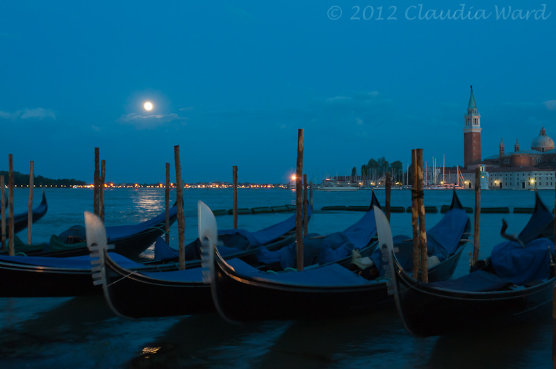 Full Moon Over Venice ©2012 Claudia Ward