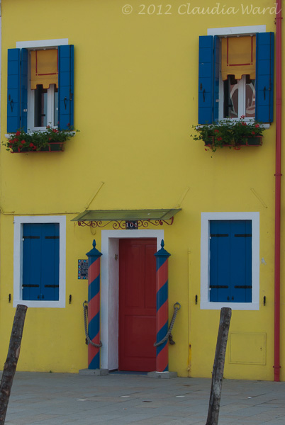 A Bright Happy House on Burano
