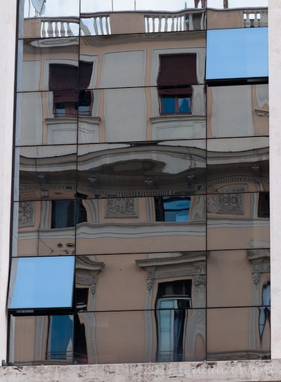 Reflection in Rome