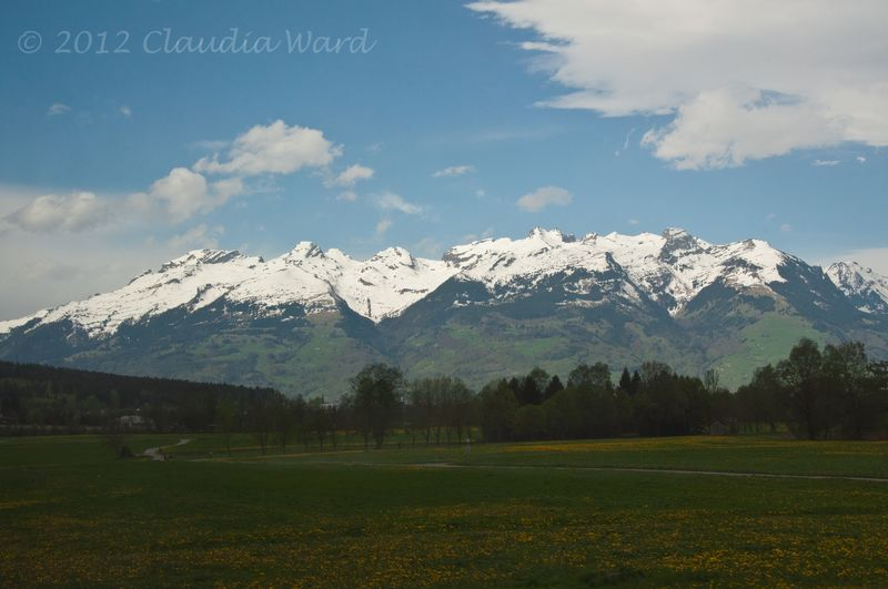 Image from the Train through the Austrian Alps