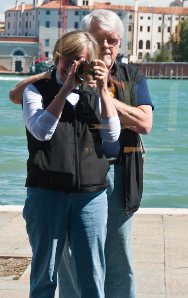 Peter and Me Together in Venice
