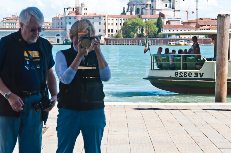 Peter & Me Reflecting on Venice