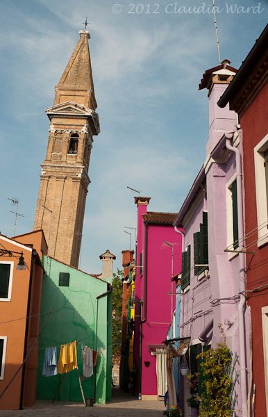 Burano Church Tower