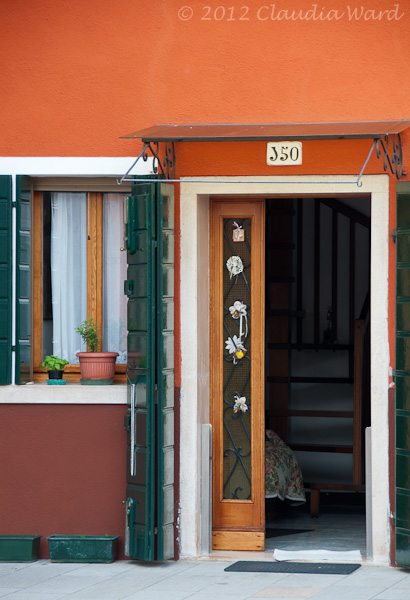 OPen Doorway in Burano