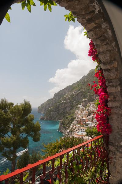 The Balcony at Hotel Eden Roc, Positano, Italy