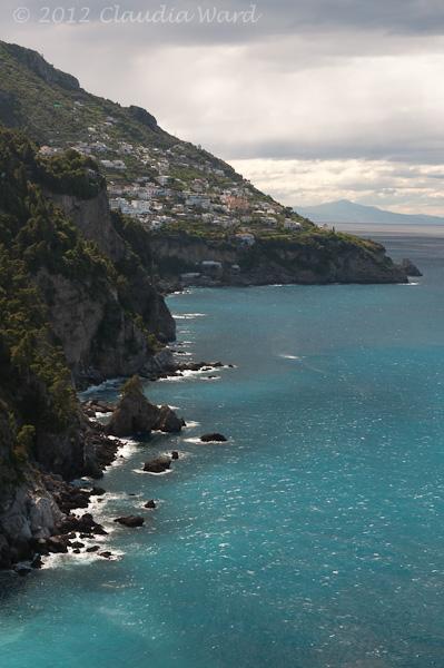 Amalfi Coast from the Hotel San Pietro