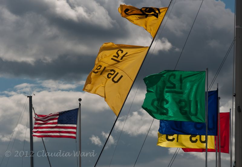 Flags ©2012 Claudia Ward