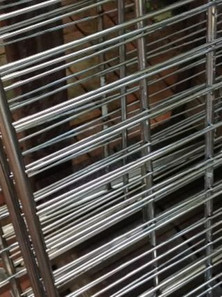 Cleaned Oven Racks - Easy Off to the Rescue