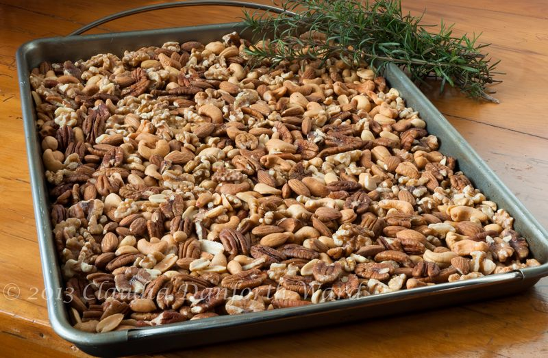 Assorted Nuts & Rosemary for Union Square Cafe Bar Nuts
