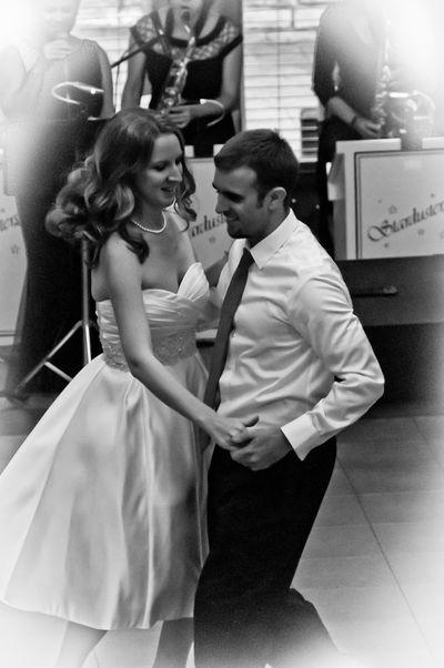 Jennifer and Bill Dancing
